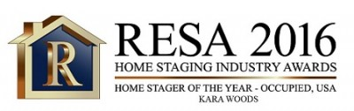 KARA WOODS Home Stager of The Year - Occupied, USA[1]