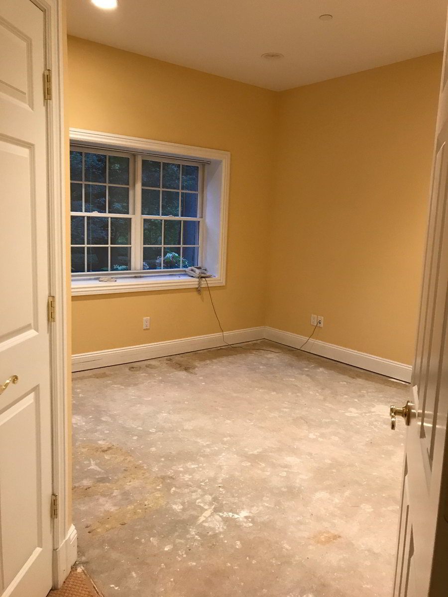 Room before interior design